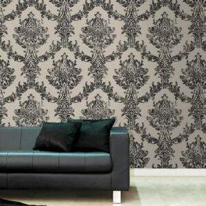 papel-parede-liverpool-opal-damask-charcoal-gold-101470-ambiente3